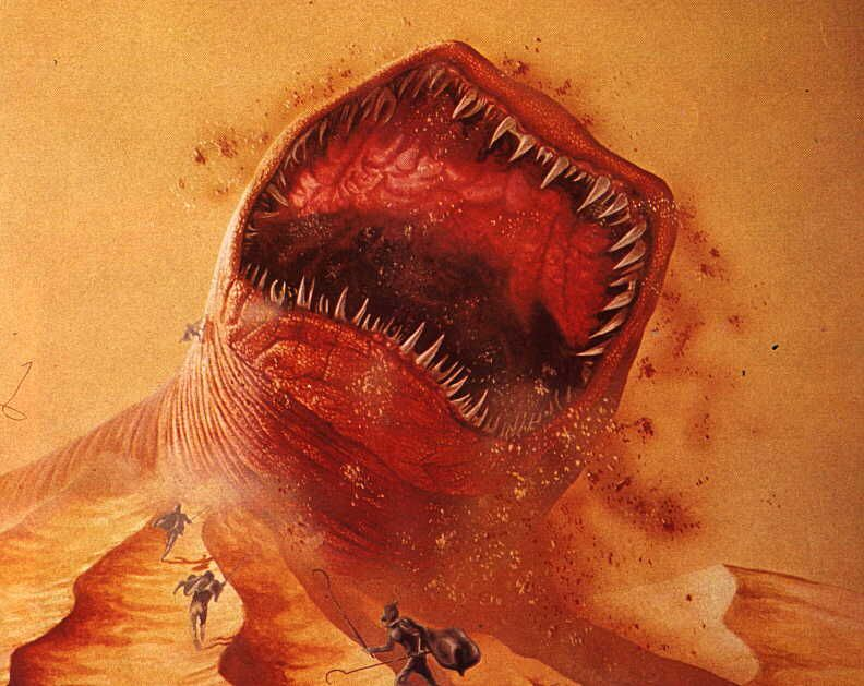 Giant Sand Worm Of Dune Karl Shukers Cryptozoology Animal
