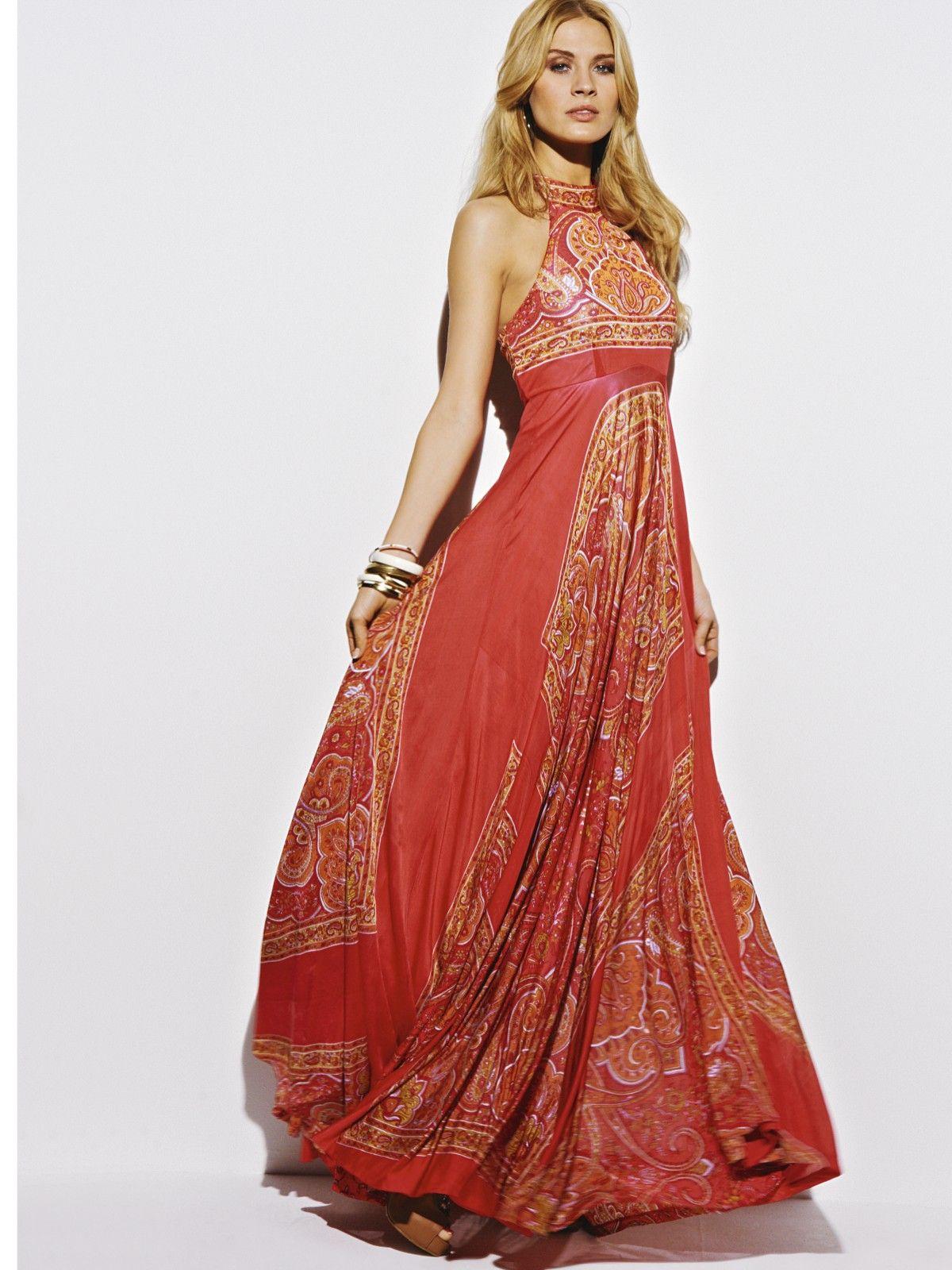 South Scarf Print Halter Maxi Dress | Very.co.uk | ESTILO ...
