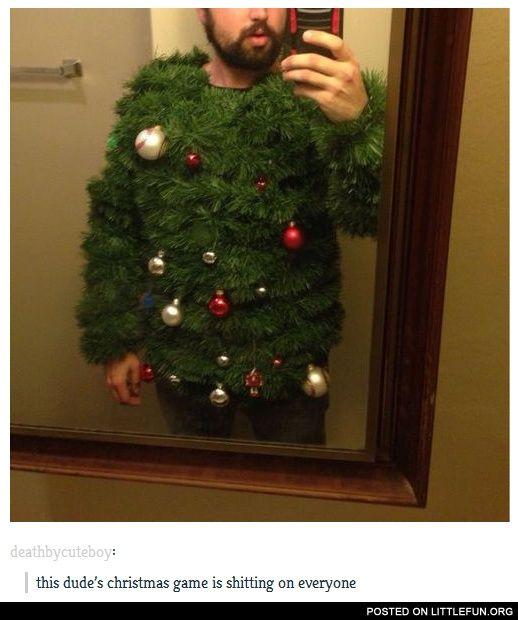 Diy Christmas Tree Sweater: Christmas Tree Sweater