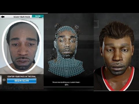 Nba 2k17 Best Way To Get Facescanned Hacks Face How To Get