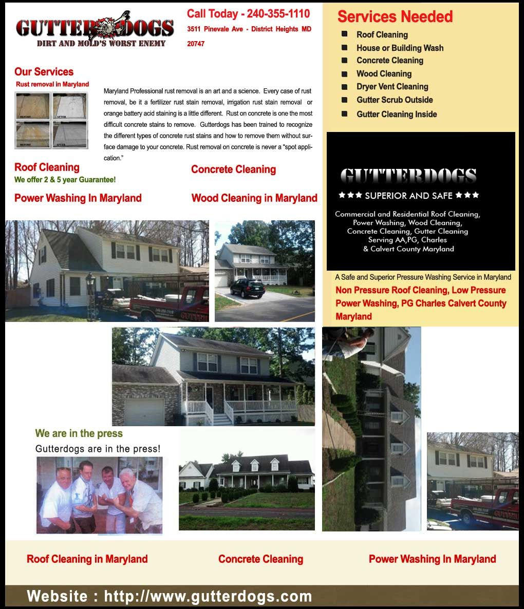 Gutterdogs is a locally owned and operated exterior