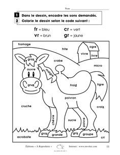 French Coloring Book French Alphabet Coloring Pages Mr