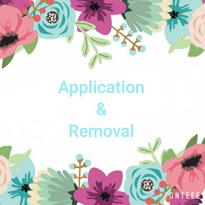 Jamberry product application and removal tips and tricks