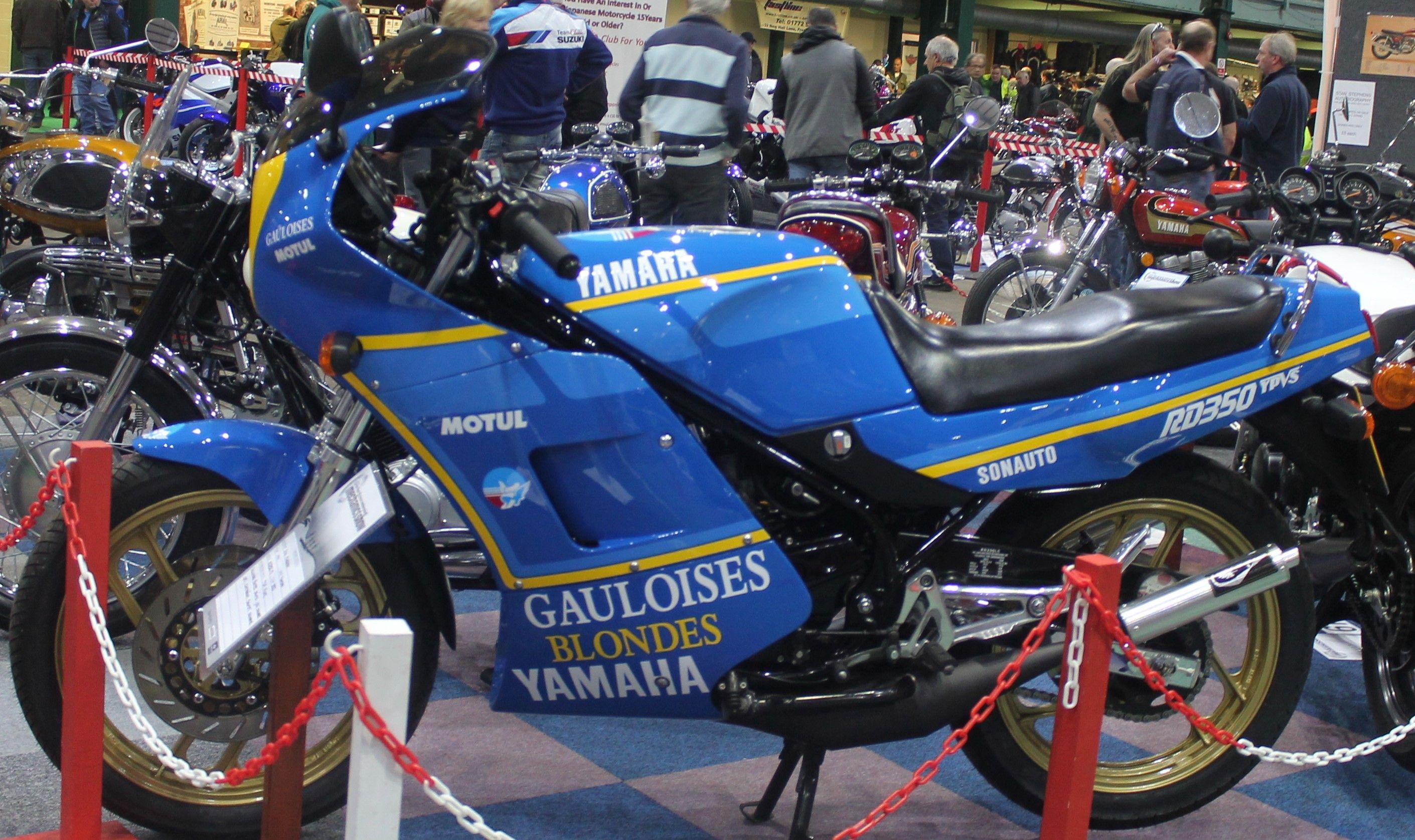 1991 Yamaha Rd350 F2 Gauloises Blondes Christian Sarron Tribute Yamaha Biker Life Bike