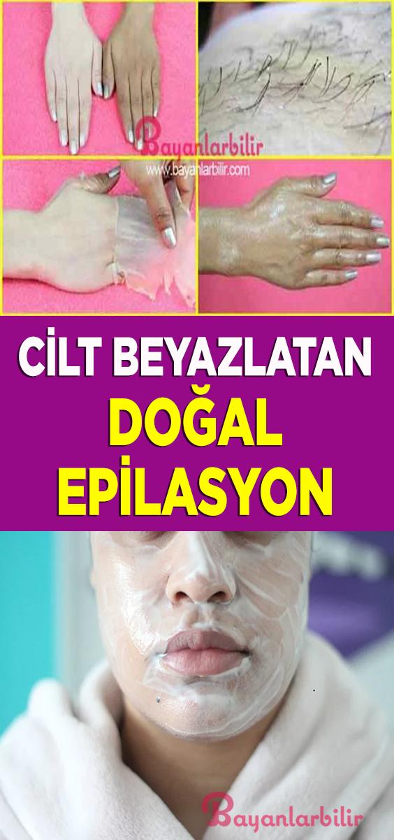 Cilt beyazlatan doğal epilasyon maskesi nasıl yapılır #ciltbakımı