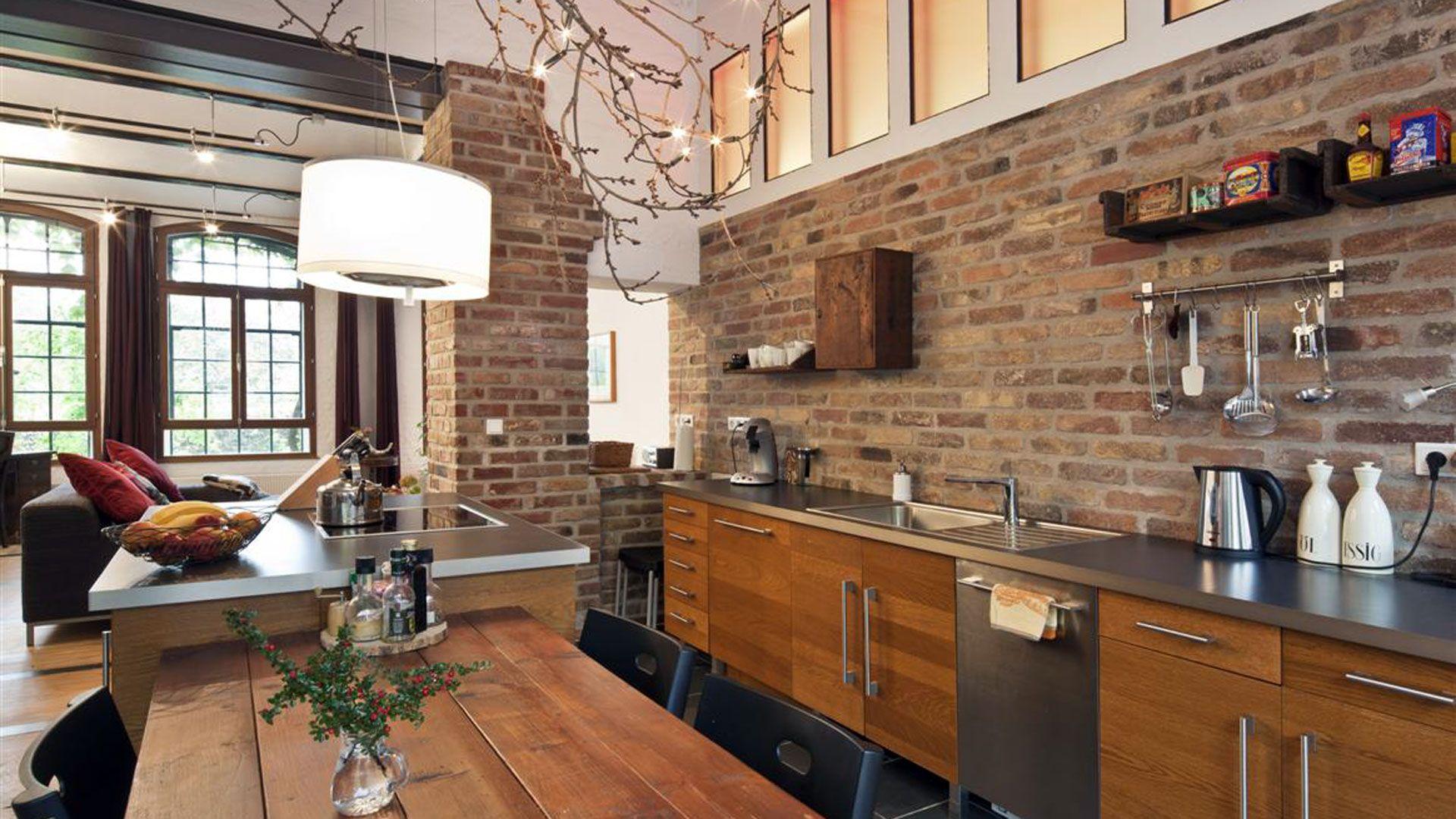 loft k che essplatz foto sonja speck furniture pinterest loft k che k che und loftwohnung. Black Bedroom Furniture Sets. Home Design Ideas