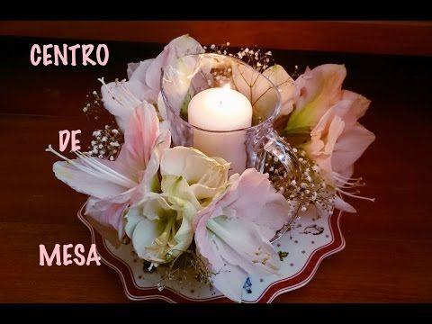 Arreglo floral centro de mesa flores naturales 2 ideas - Arreglo de flores naturales ...