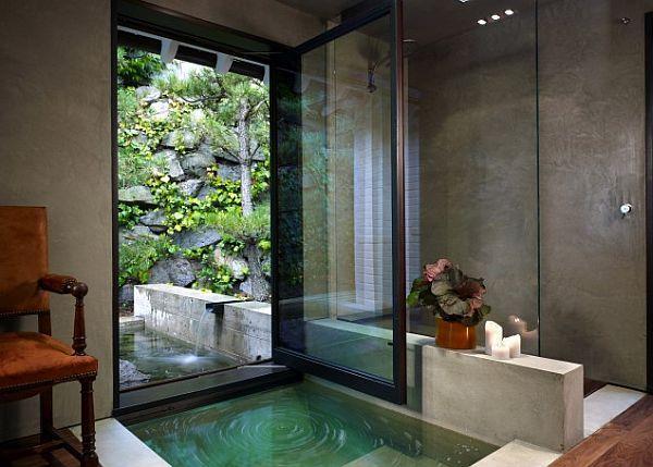 Creating An Indoor Luxury Spa Room At Home Prachtige Badkamers Hedendaagse Badkamer Droombadkamers