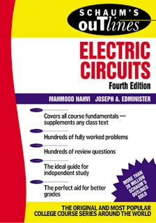 Schaum's  Electric Circuits Pdf Free Download - Free Engineering