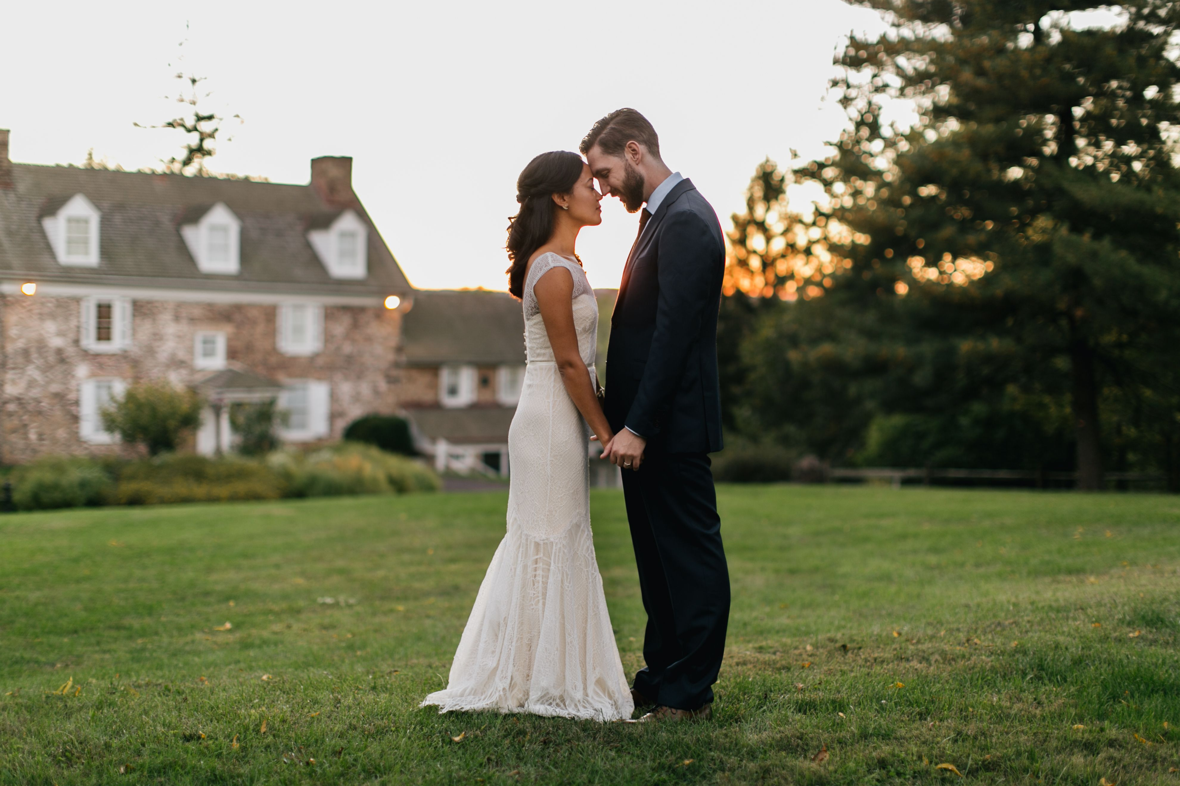 Rebecca Schoneveld Bridal | Blakely Gown | Emily Wren Photography | Heather + Rob