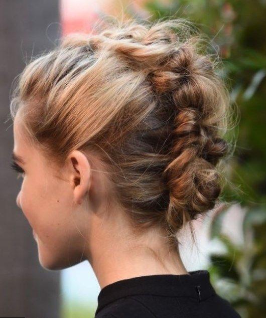 Coiffure facile pour cheveux courts 50 coiffures faciles