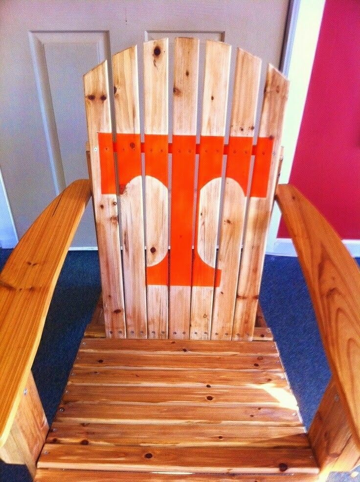 Stupendous Pin By Kim Sebby On All Vol Tn Vols Tennessee Volunteers Dailytribune Chair Design For Home Dailytribuneorg