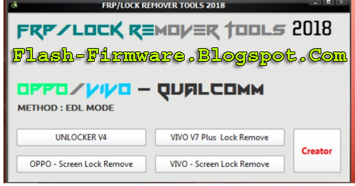 DownloadFrp / Lock Remover Tool Feature: Unlocker v4 Vivo v7 Plus
