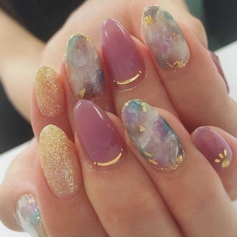 55 Best Nail Color For Women to Perfect Your Style In This Fall #fall #nail #nailart