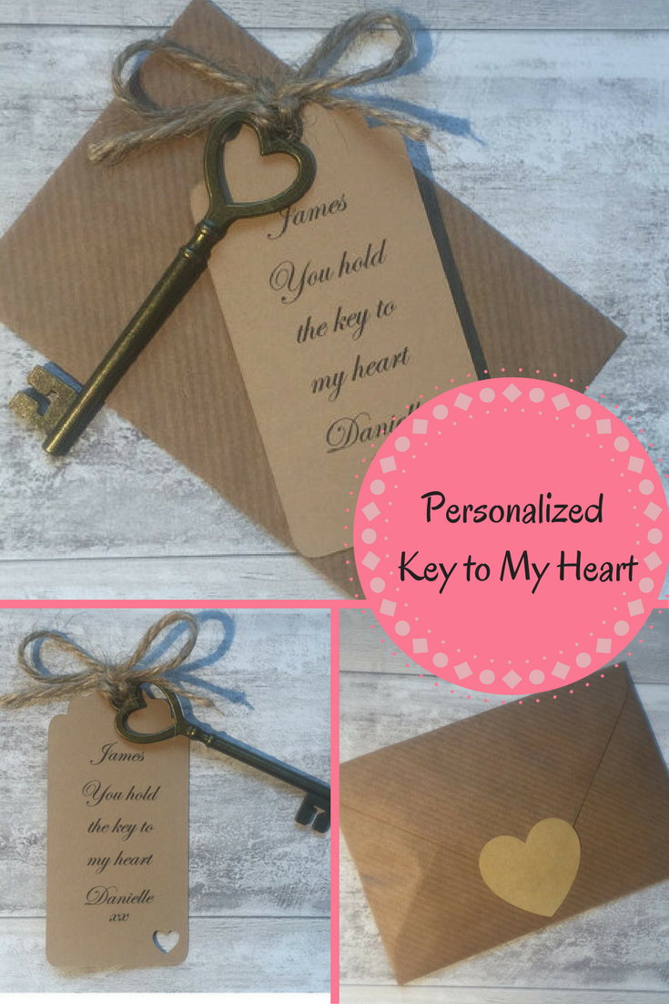 So cute! What a great love birds gift. #afflink #keytomyheart ...