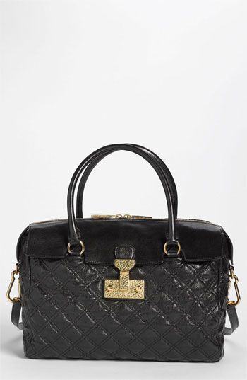 MARC JACOBS 'Baroque - Rudi' Leather Satchel available at ... : marc jacobs quilted satchel - Adamdwight.com
