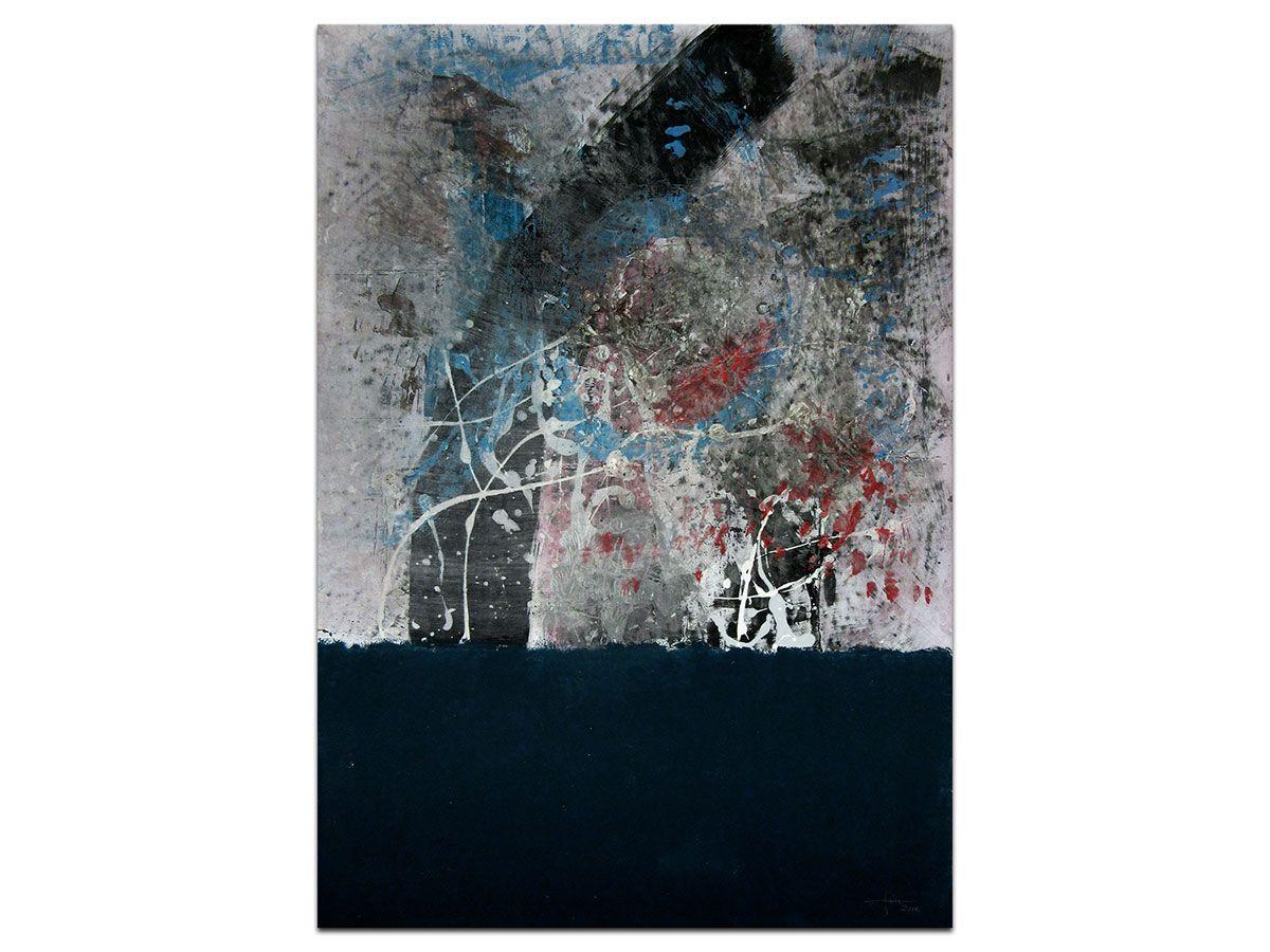 Moderne Slike U Galeriji Mag Apstraktna Slika Tonemo U