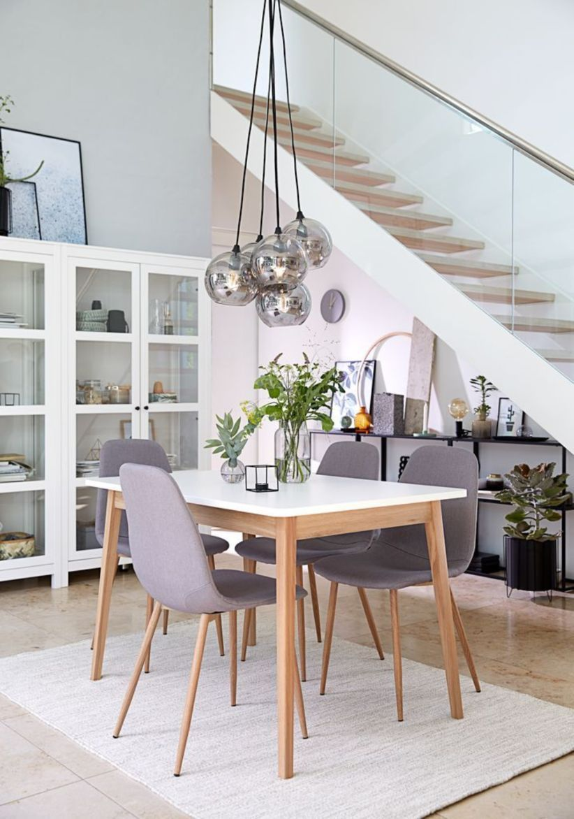 46 Modern Scandinavian Dining Room Chairs Design Ideas Minimalist Dining Room Dining Room Design Scandinavian Dining Table