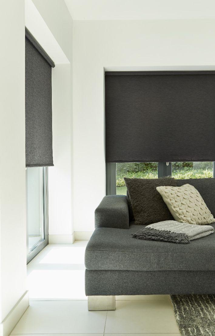 Fresh Black Roller Blind House Blinds Bedroom Blinds Living