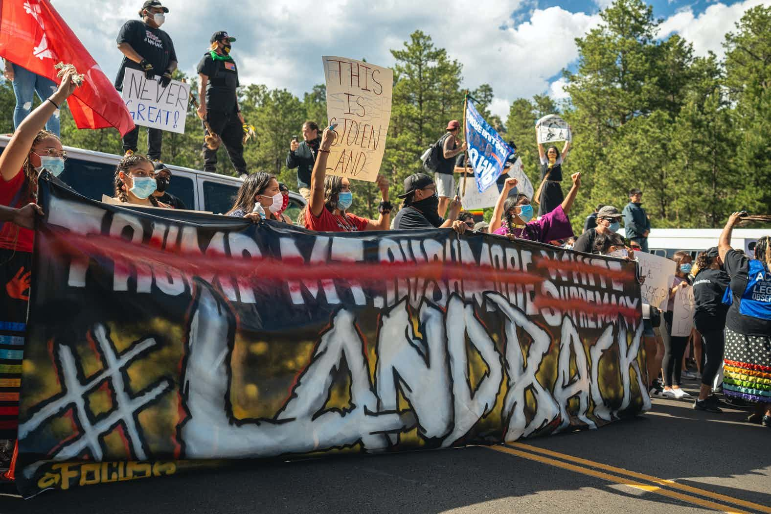Indigenous Land Defenders Released From Jail After Mt Rushmore Trump Visit Prosecutor Launches Campai Indigenous Peoples Day Land Defender Indigenous Peoples