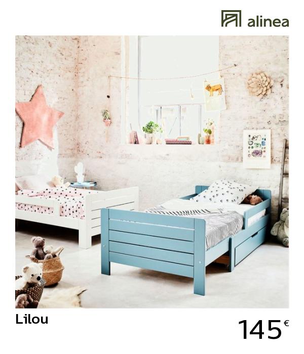 Alinea Lilou Lit Evolutif Bleu 3 Positions Pour Enfant Meubles Chambre Lits Alinea Decoration Lit Enfant Bleu Meuble Meuble Deco Meuble Chambre