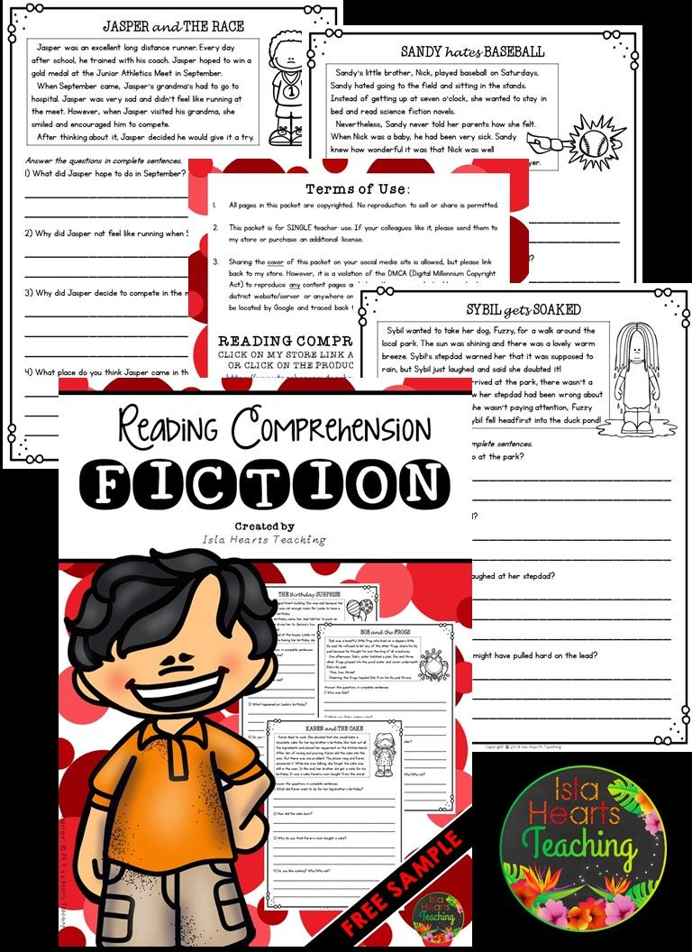 Free Reading Comprehension Worksheets By Isla Hearts Teaching Reading Comprehension Passages Reading Comprehension Comprehension Passage [ 1056 x 768 Pixel ]