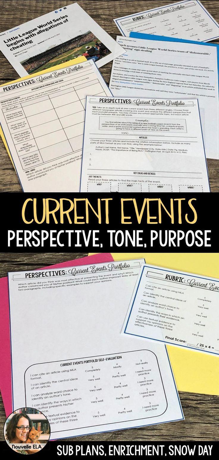 Current Events Portfolio - Multiple Perspectives - Emergency Plan