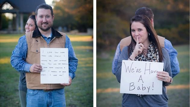 Top 25 ideas about Baby Announcement Ideas – Photo Baby Announcement Ideas