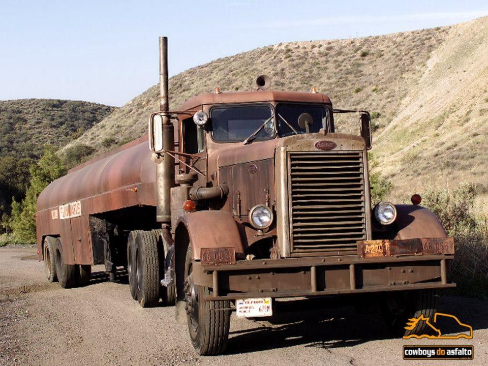 Truck from of the movie Trucks, Cars movie, Peterbilt