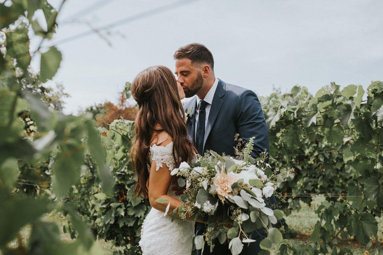 Kristie and Jordan Wedding at The Brotherhood Winery