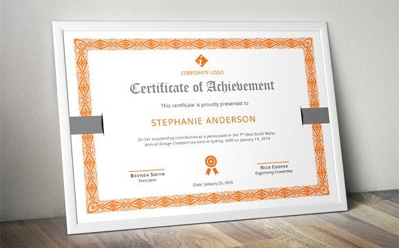 cool MS Word border corporate certificate Stationery Pinterest - microsoft word certificate borders