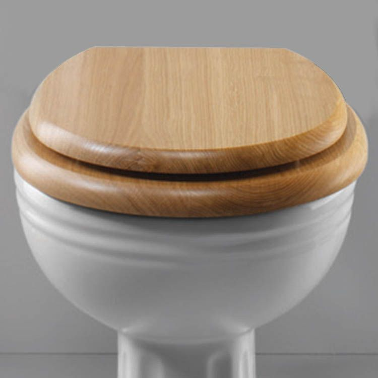 Strange Silverdale Btw Traditional Luxury Light Oak Wooden Toilet Gmtry Best Dining Table And Chair Ideas Images Gmtryco