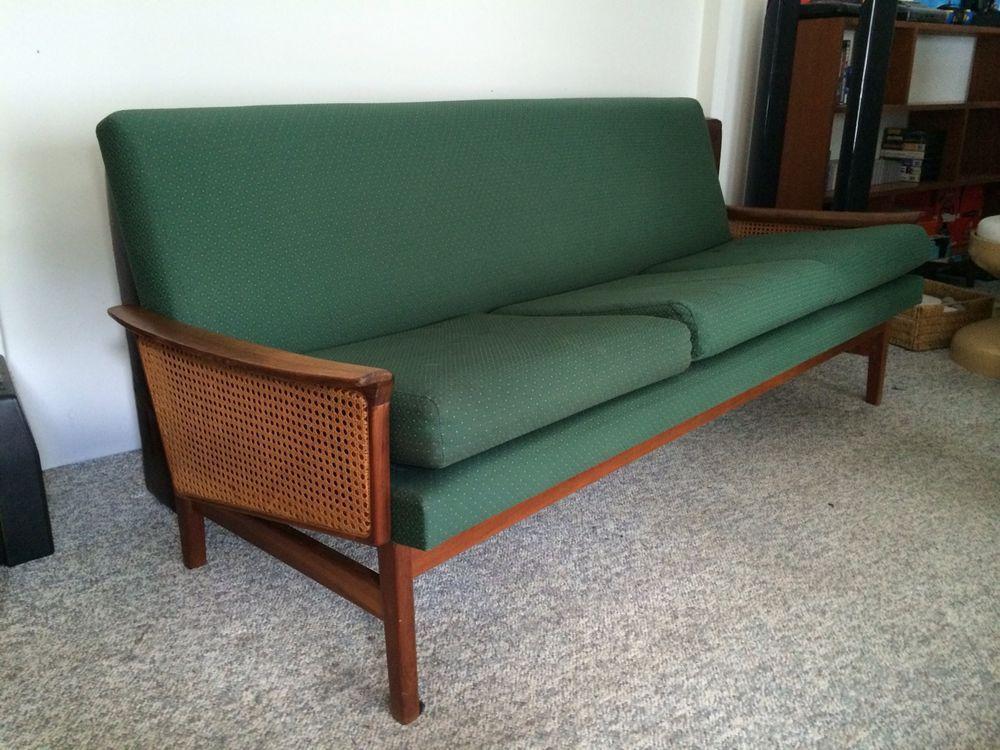 mid century fler sofa lounge vintage teak couch lounge suitesretro