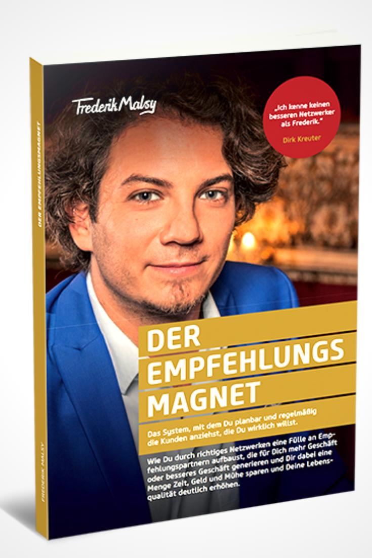 Buch Geschenk Der Empfehlungs Magnet Networker Unternehmer Kunden In diesem Buch erfährst du wie du mit strategischem Empfehlungsmarketing deine Kundenakquise an dei...