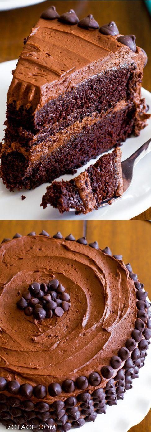 Resepi Kek Coklat 3 Lapis Berkrim, Menarik & Coklat Lazat | Malaysian recipes, Cake and Recipes