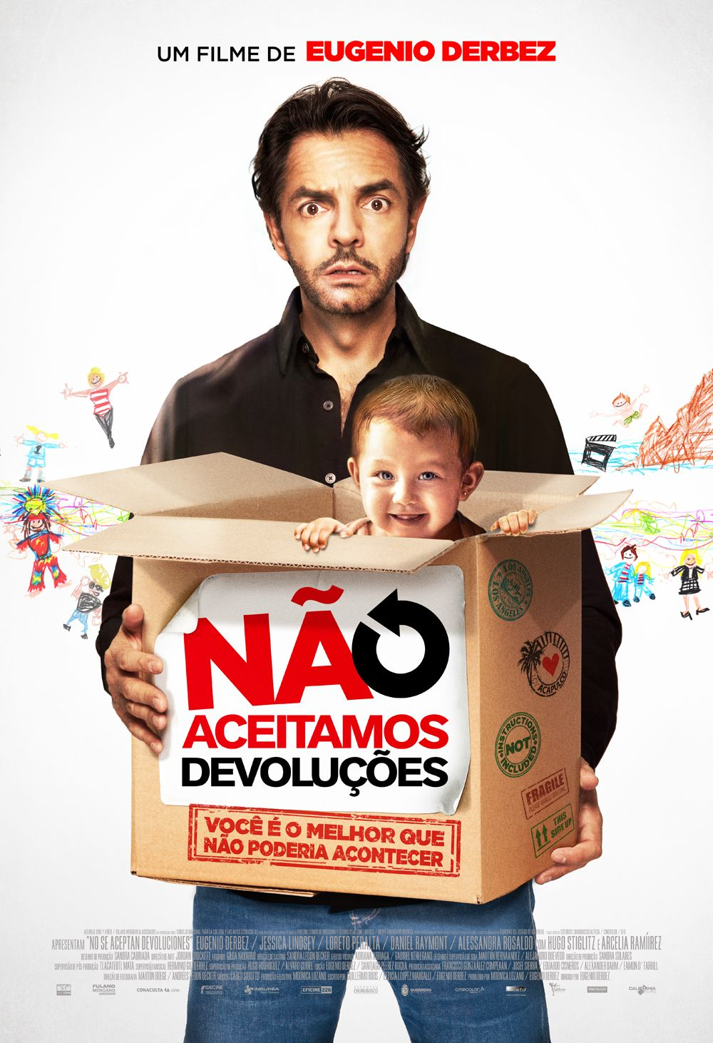 """""""Não Aceitamos Devoluções"""" estreia em 03 de julho. Trailer: http://youtu.be/FryWPR5eARM"""