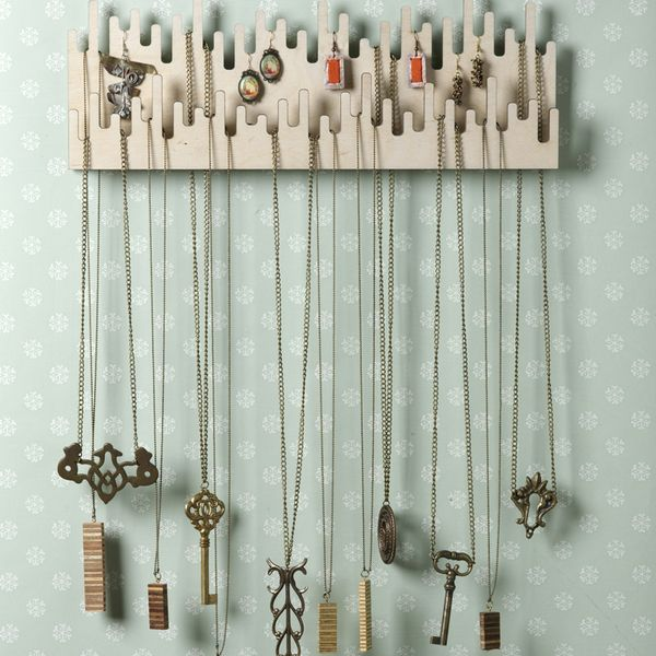 Colgador para collares bijoux el regalo perfecto - Como colgar collares ...