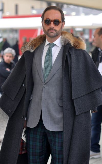 -I like the coat, I just don't know if I would be able to pull it off.