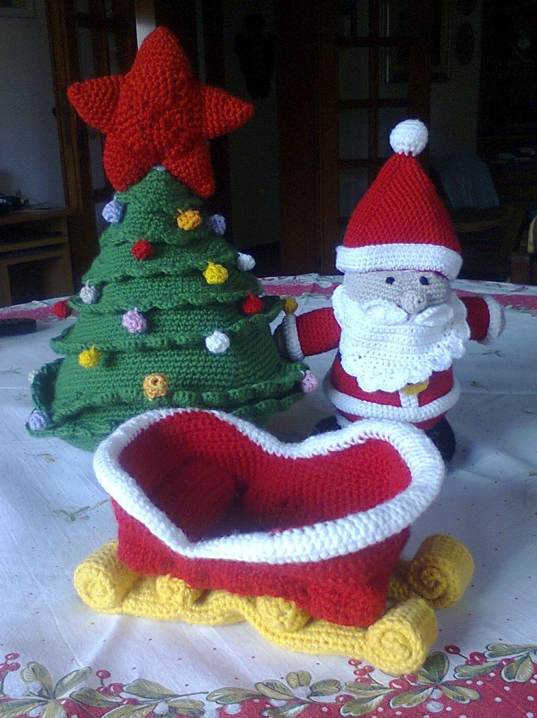 Babbo Natale all'uncinetto | Uncinetto festività, Natale all'uncinetto, Uncinetto  amigurumi | 1405x1050