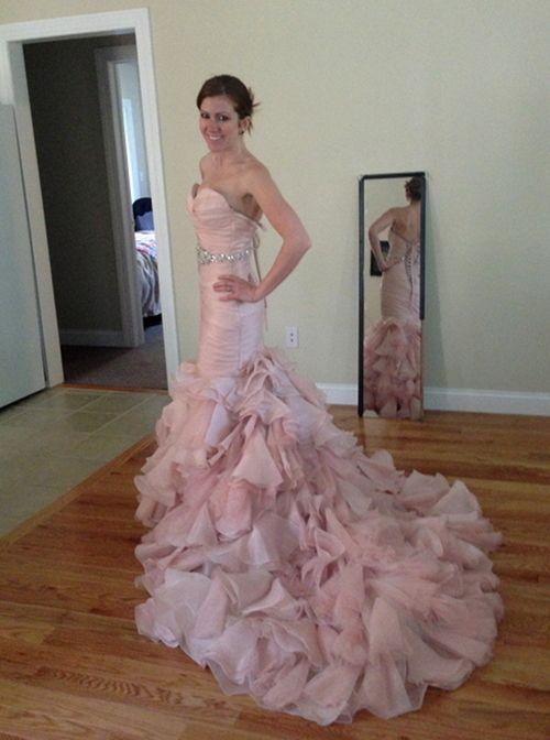 My Maggie Sottero Blush Divina Wedding Dress