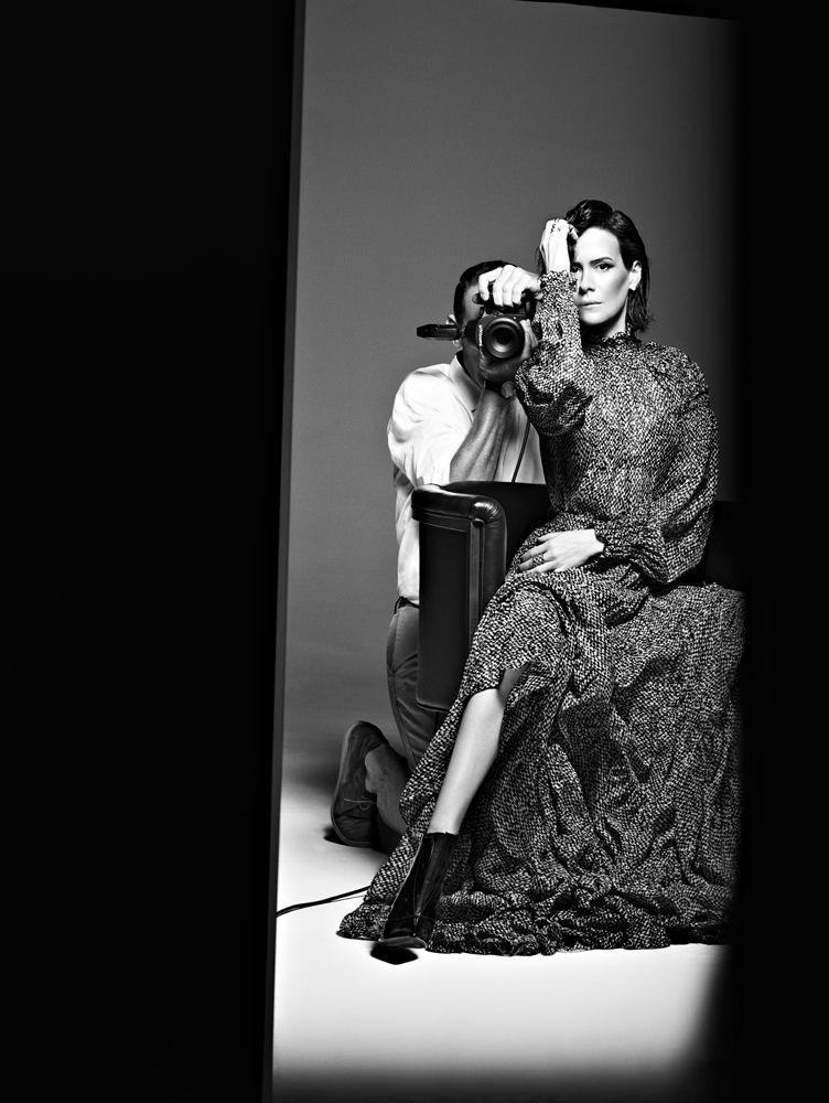 Interview Magazine - Slideshow - Sarah Paulson