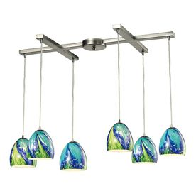 Westmore Lighting Parasol Satin Nickel