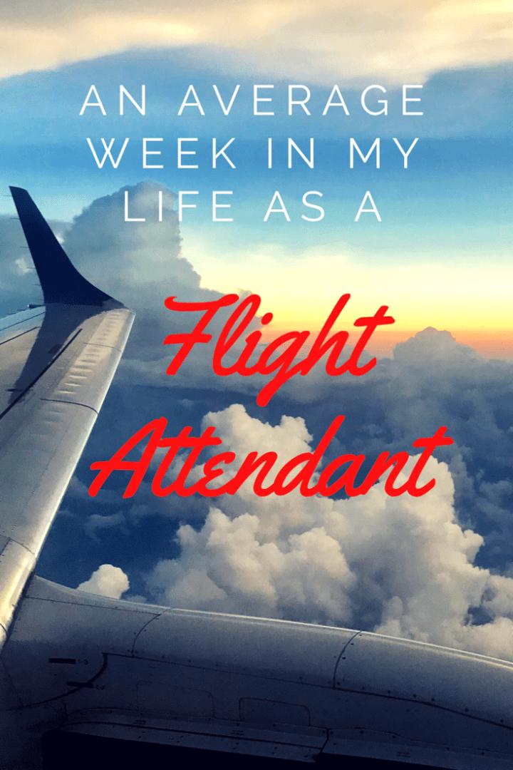 An Average Week in My Life as a Flight Attendant in 2020