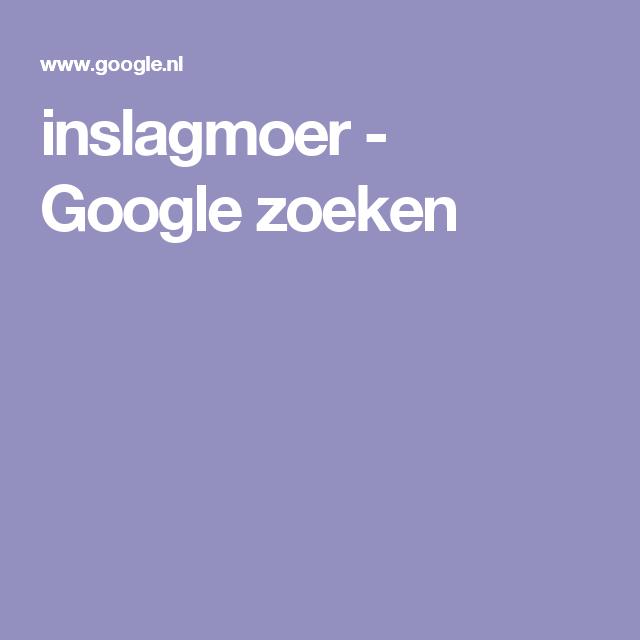 inslagmoer - Google zoeken