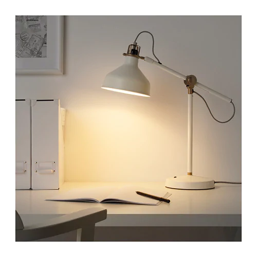 Ranarp Lampa Biurkowa Kremowy Dodaj Do Koszyka Ikea Lamp Ikea Ranarp Work Lamp