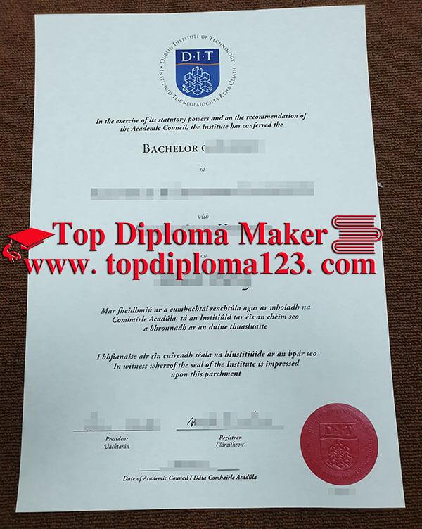 Dublin Institute Of Technology Dit Bachelor Degree Sample Buy Certificate Buy University Diplomas Buy College Diploma High School Diploma University Diploma
