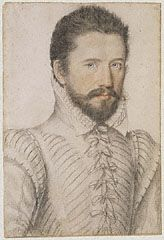 Portrait of a Bearded Man, L'Anonyme Lécurieux, about 1575