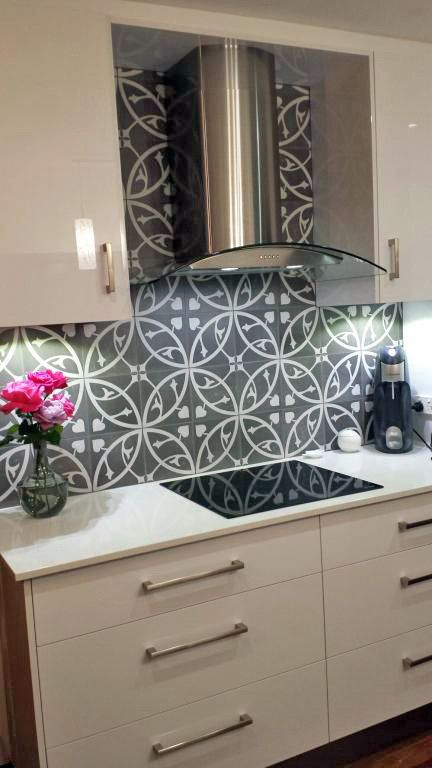 Nice Tiled Splashbacks For Kitchens Ideas Part - 14: Kitchen Splashback Tiles Spaces Modern With Kitchen Splashback Ideas Kitchen