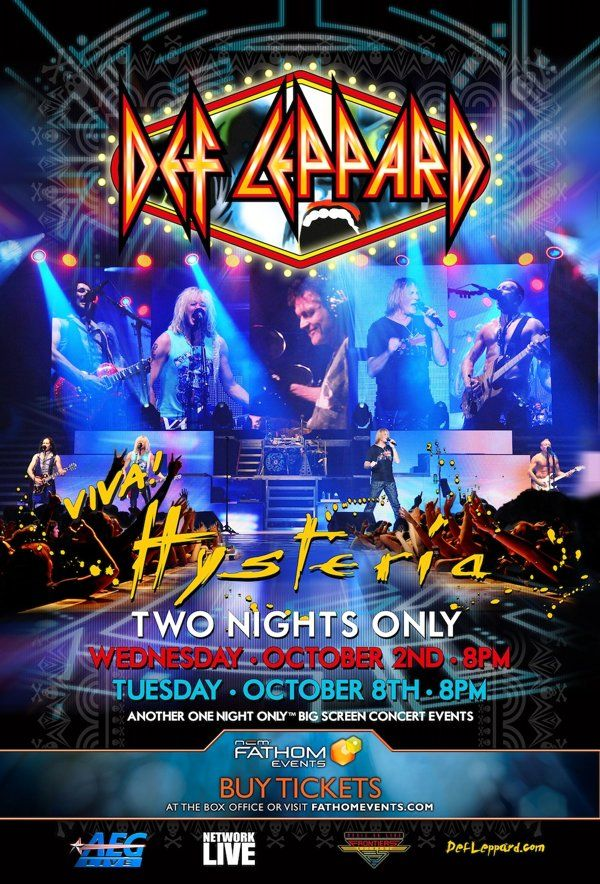 Exclusive Get A First Look At Def Leppard S Good Morning Freedom Not Captured Live In Over 30 Years Def Leppard Concert Cool Things To Buy