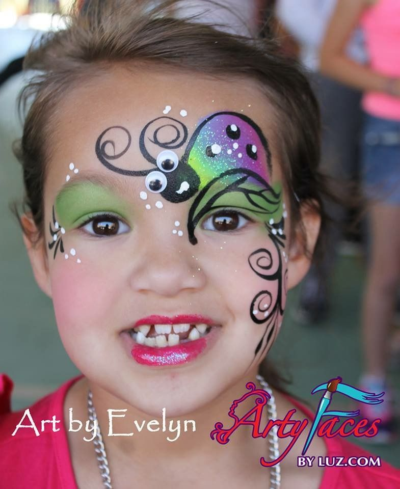 Cute Slug Face Painting Face Painting Designs Easter Face Paint